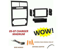 05 06 07 DODGE CHARGER MAGNUM Radio Stereo Car Installation DOUBLE DIN Kit