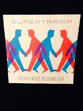 SUPERTRAMP 1985 BROTHER WHERE YOU BOUND TOUR CONCERT PROGRAM TOUR BOOK-UNUSED