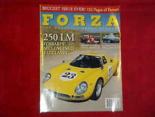Forza # 56 Magazine F1 OCT 2004 Formula One, Ferrari 250 LM GO US SKI TEAM USA!