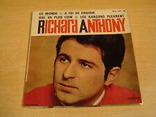 45T EP / RICHARD ANTHONY - CE MONDE