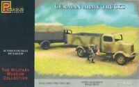 Toy Soldiers Pegasus 1/72 Scale WWII German Army Trucks 2 Easy Build 7610