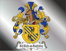 NEU: REALER TITEL= GRAF / GRÄFIN von STAUFFENBURG = Adelstitel