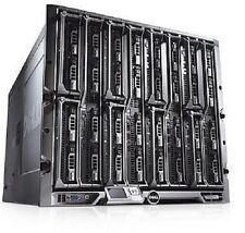 Dell PowerEdge M1000E Gehäuse 256GB RAM 8 x M600 3.0 Quad core Blade Server