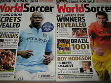 LOT 2 WORLD SOCCER December 2012 January 2013 Mario Balotelli CORINTHIANS Messi