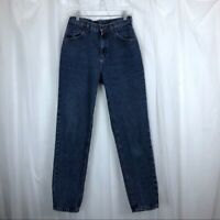Lee Jeans Women's Medium Wash Mom High Waist Rise Tapered Slim Vintage