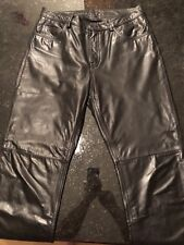 Express Leather Pants - Size 10 - Black