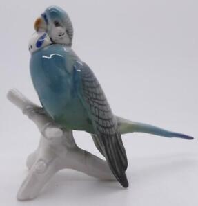 KARL ENS PORCELAIN BLUE BUDGIE