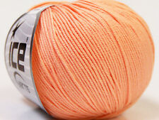 Lot of 8 Skeins Ice Yarns BABY SUMMER (60% Cotton) Wool Light Salmon