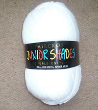 Woolcraft Faircroft Double Knitting Wool / Yarn 1 X 500g ball Shade 010 White