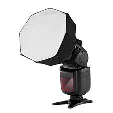 "Universal 5 ""x5"" Octagon Softbox Beleuchtung für Canon Nikon Flash Blitzgerät"
