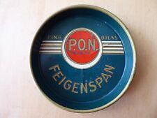 Vintage Feigenspan Beer Brewery Tip Tray