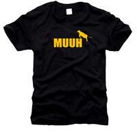 MUUH - die Kuh - KULT -  T-Shirt, Gr. S bis XXXXL