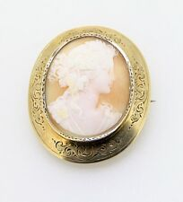 Antike Kamee 585er Gold  Brosche