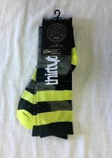 Thirtytwo Mens Raven Snowboard Winter Sock Black Green Gray Small-Medium NEW