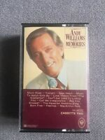 Andy Williams Memmories Cassette Tape ( Double Tape )
