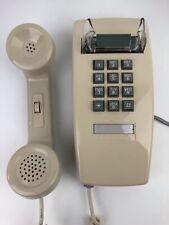 CORTELCO WALL PHONE 2554 Vintage Push Button  HANDSET VOLUME CONTROL