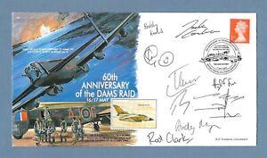 SIGNED RAF COVER - ANNIVERSARY THE DAM BUSTERS RAID - 617 SQUADRON TORNADO CREW.