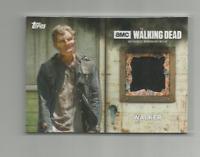 THREE (3) 2017 TOPPS AMC WALKING DEAD SEASON 6 WALKER AUTHENTIC RELIC CARDS