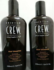 American Crew Gray Shampoo 8.45 fl oz (Set of 2) Men Official Supplier To Men