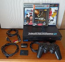 PLAYSTATION 2 FAT PS2 + MANDO + TARJETA MEMORIA + 3 JUEGOS (WW SMACK DOWN, FIFA