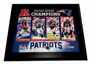 New England Patriots 10.5'' x 13'' 2014 East Division Plaque NFL Fanatics