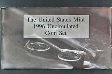 1996 P D W Uncirculated Mint set in original  Mint issued envelope * with W 10 C