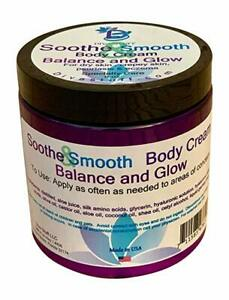 Soothe & Smooth, Dry Skin, Crepey Skin, Eczema, Psoriasis, Balance & Glow Scent
