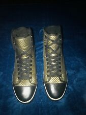 Pf Flyers Gold Quilted High Top Mens 12 Sneakers