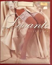 Levante Parisienne Lace Top nylon Stockings Cream Large