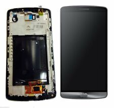 New LG G3 Touch LCD Screen with Digitizer Assembly with Frame Original Grey