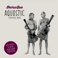 "Status Quo - Aquostic (Stripped Bare) (Boxset) Shirt Mousepad 7"" Vinyl Fotos NEU"