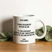 Dear Mother-in-law Mug, Funny Gift for your Mother-in-law   Mother's day Gifts