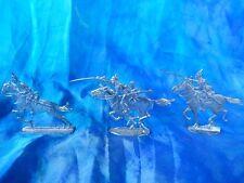 Plats d'étain - flat tin - zinnfiguren : 3 cavaliers allemands guerre 1870 (2)