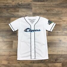 Columbus Clippers Minor League Baseball Jersey Youth Kids Boys Size XL White