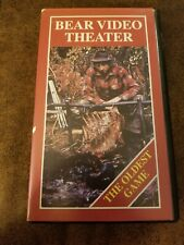 Fred Bear Video Theater The Oldest Game Vhs bowhunting Allegheny Mountains Pa