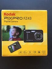 Kodak PIXPRO FZ43 16 MP Digital Camera - Black *tested*