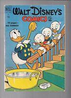 Walt Disney's Comics & Stories #125 Carl Barks 1st Junior Woodchucks Feb 1951