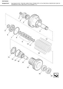 New 86500826 Cone Bearing For New Holland 70 Series FIAT G Series Tractors