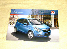 Vauxhall New Agila B Range 2010 No1. Club, Design Models