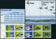Denmark 823f booklet,MNH.Michel 872-876. National Bird candidates 1986