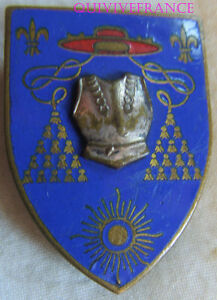 IN7483 - INSIGNE 6° Régiment de Cuirassiers, émail, relief