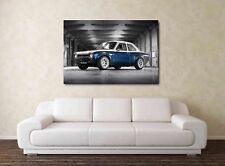 FORD ESCORT MK1 RS ART PICTURE 20X30 INCH FRAMED HD CANVAS CLASSIC  PRINT RALL