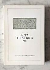 Sallmann/ Schnur (Hgg.): Acta Treverica 1981, Leichlingen 1984