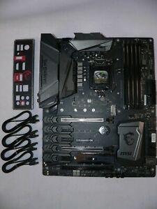 MSI Z270 Gaming M5 LGA1151 DDR4 M.2 U.2 HDMI DVI-D TypeC Motherboard Latest Bios