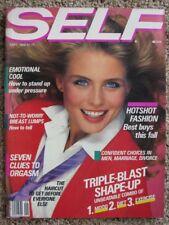 09/1982 SELF Kim ALEXIS Bill King Beth Rupert Maidenform Max Factor Dayle Haddon
