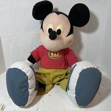 "New listing Jumbo Mickey Mouse Mattel Fisher-Price Disney Stuffed Plush Toy 24"""