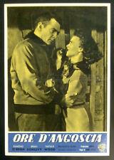 "CINEMA-fotobusta ORE D'ANGOSCIA ""A Cry in the Night"" o'brien, donlevy, TUTTLE"