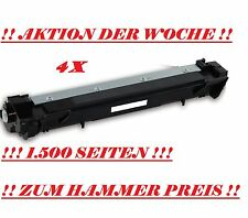 4x TONER CARTUCCE TN1050 PER BROTHER DCP1510 DCP1512 DCP1610W DCP1612 HL1112