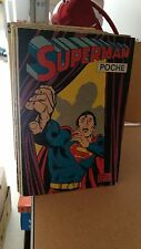 LOT SUPERMAN POCHE AVEC TETE DE SERIE SAGEDITION EN TBE
