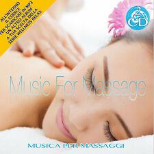 2 CD Music for Massage Spa Music Wellness Relax + MP3 Cadeau
